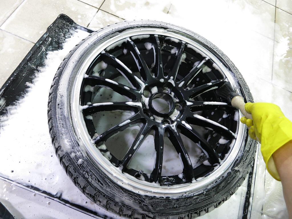 детейлинг колес
