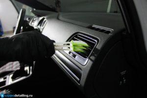 Детейлинг интерьера автомобиля