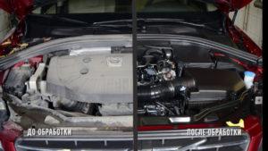чистка двигателя